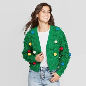 Mighty Fine Holiday Sweater Size S